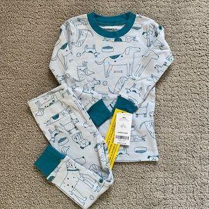 Carter's Two-Piece Dog Print Pajamas  (18 months)